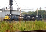 CSX 8829; NS 9102 & 9937
